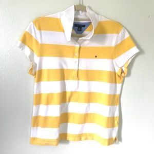 3/$20!!! Tommy Hilfiger* Striped Polo Shirt L
